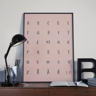 ABC Wild Pink -