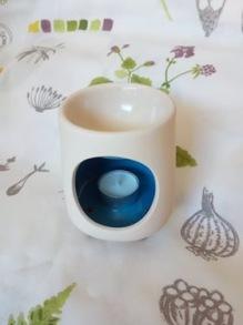 Aromalampa, blå