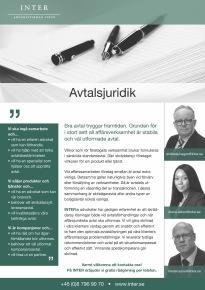 Faktablad Advokatfirnan Inter