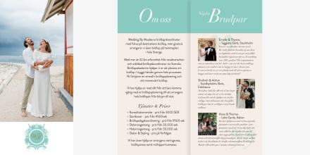 Presentationsfolder Wedding by Moalee