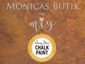 Monicas Butik är återförsäljare med webbutik av Annie Sloan Chalk Paint™ kalkfärg för betong och alla material.
