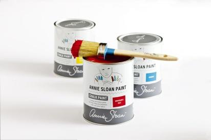 Annie Sloan Chalk Paint™ kalkfärg för betong, möbler, inredning & hobbyprojekt