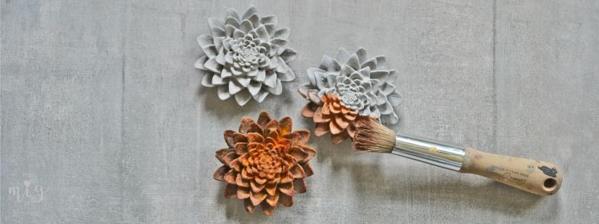 Med Annie Sloan Chalk Paint™ kan du måla på betong och nästan alla material. Du kan skapa intressanta effekter som rost och ärgad koppar.