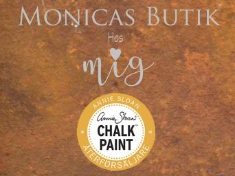 Monicas Butik är återförsäljare av Annie Sloan Chalk Paint och Iron Orchid Dekorer.
