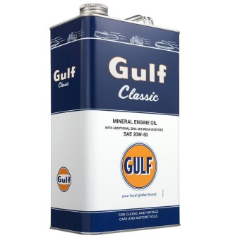 GULF CLASSIC 20W-50 - GULF CLASSIC 20W50