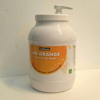 HR ORANGE 3L med pump -