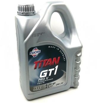 TITAN GT1 PRO V   0W-20 - TITAN GT1 PRO V