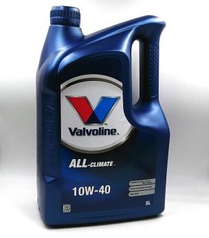 VALVOLINE 10W-40 - VALVOLINE 10W-40