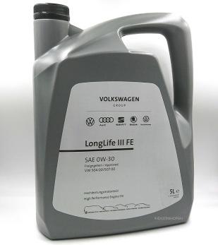 VW LONGLIFE III FE 0W-30 - VW 0W-30  5L