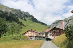 Tågsemester till Stüben Sankt Anton vandring skidåkning