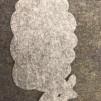 Tovade Produkter - Grytunderlägg Lamm grå