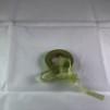 Sidenchiffong Band 1 cm - Chiffong band per meter - Lime