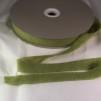 Förfilt i merinoull 2,5 cm band - Förfilt 2,5 cm per meter - Lime