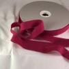 Förfilt i merinoull 2,5 cm band - Förfilt 2,5 cm per meter - Hallon