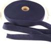Förfilt i merinoull 2,5 cm band - Förfilt 2,5 cm per meter - Djupblå