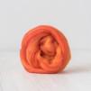 70 %merinoull och 30 % Tussah silki topsband - Sicilian Oranges