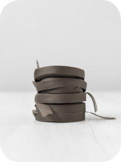 Sidenchiffong Band 1 cm - Chiffong band per meter- Kanel