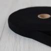 Förfilt i merinoull 2,5 cm band - Förfilt 2,5 cm per meter - Svart