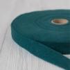 Förfilt i merinoull 2,5 cm band - Förfilt 2,5 cm per meter - Mörkturkos