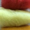 Påskpyssel i härliga färger - Gul-Röda färger påse 50 gram