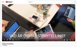 Vad är digital storytelling?