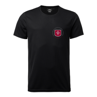 Training t-shirt  black - Size 120cl