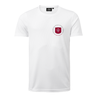 Training t-shirt  white - Size 120cl