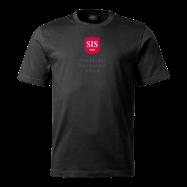 svart t-shirt stående logga 2 106-99 front