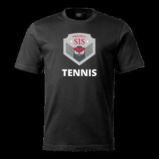 T-shirt Tennis black - 140cl