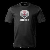 T-shirt Soccer black