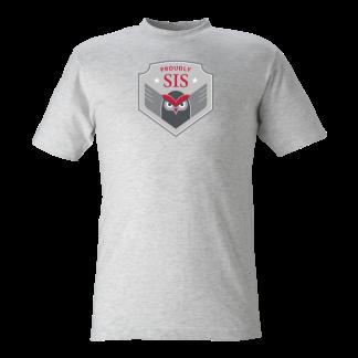T-shirt Owl grey - 140cl