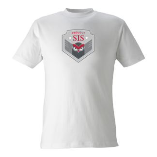 T-shirt Owl white - 140cl