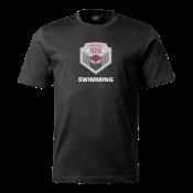 T-shirt Svimming black