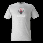 T-shirt Svimming grey