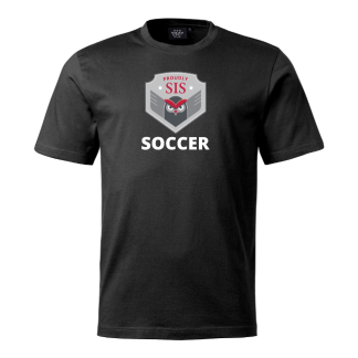 T-shirt Soccer black - 140cl