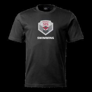 T-shirt Svimming black - 140cl