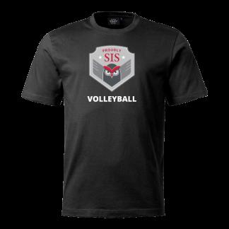 T-shirt Vollyball black - 140cl