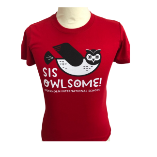 Owlsome T-shirt Red - 100cl