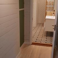 Hall och badrum (efter)
