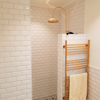 Helt nytt badrum