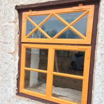 Renoverat fönster, Eksta