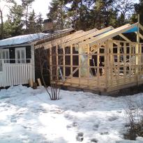 Utbyggnad av sommarhus, Fröjel