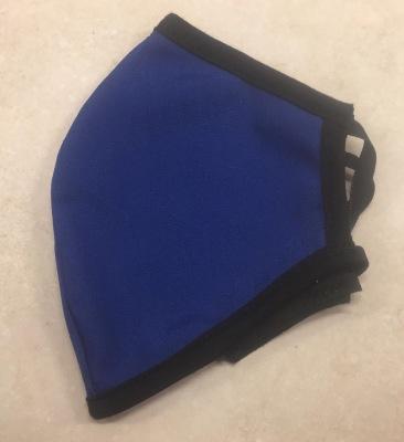 Μάσκα Προσώπου Ενηλίκων - Face mask adult - Μάκσα,μπλέ με μαύρο - Face mask blue with black