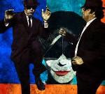 BLUES BROTHERS *61x61 cm*