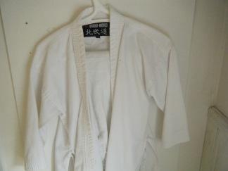 Judo dräkt med byxor st 130