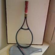 Tennis rack