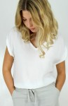 BESS TOP WHITE/ CAPRI COLLECTION