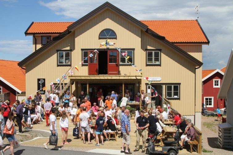 Salong Strömstierna - Seglarhotellet på Käringön