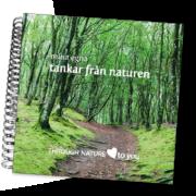 Mina tankar från naturen - skrivbok