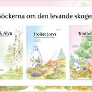 Tre böcker av levande skogen
